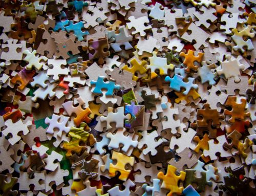 Here's a Box Top for All Those Jigsaw Junkies Trying to Put Together Life's Pieces